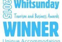 Tourism Awards / Winners of Whitsunday Tourism Awards 2015 for Unique Accommodation.
