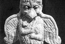 Grifon Simurg Garuda Sphinx