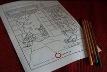 Kleurplaten RMO / Op de website van het Rijksmuseum van Oudheden vind je een aantal hele leuke kleurplaten! Klik op de afbeelding om de kleurplaat te downloaden, of om nog meer kleurplaten te vinden.