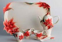 ** PORCELÁN • Franz ** / ♣ Originální porcelán FRANZ pochází ze samotné kolébky porcelánu Číny. Na výrobu se používá nejjemnější kaolín a nejlepší barvy,což zaručuje originalitu každého výrobku ♣
