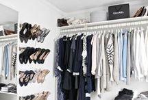 Closet / Idéias de decoração para closet!