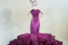 Barbie - Evening and Party Gowns / Barbie fancy clothes