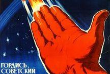 СССР Плакаты.Наука_Soviet posters.The science
