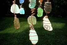 Wind Chimes and Things that Hang / Beautiful Wind Chimes and other things that hang, often made from natural or found or old materials.