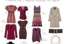 Apple shape fashion