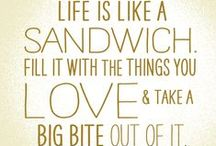Words to Eat By / Some quotes we find delicious.