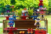 Super Heroes - Man & Girls