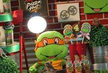 Tartarugas Ninjas Party
