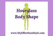 Hourglass Body Shape / Style tips and outfit inspiration for an Hourglass Body Shape