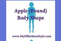 Apple (Round) Body Shape / Style tips and outfit inspiration for an Apple (Round) Body Shape