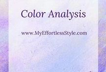 Color Analysis / Information on Color Analysis, Color Seasons, How to choose your best colors