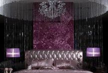 Vintage Decor Goes Hollywood Glam / Interior decoration inspired by Hollywood glamour.