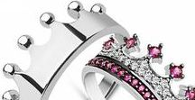 King and Queen promise rings / King & queen promise rings for couples (crowns)