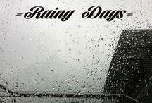 Una giornata di pioggia...