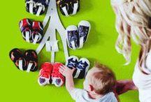 Guarda-sabates / On posem i com organitzem les sabates dels nens? ;)