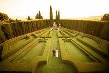 Idyllic Italian gardens