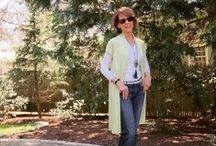 #Stylish60s / These are examples of my ordinary outfits of the day for an over sixty woman.