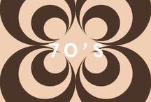 70's by PaperMint / PaperMint vous invite dans son univers Seventies regroupant les collections Squint Eyes & N°3, comportant des papiers-peints et des stickers repositionnables. L'occasion d'inviter une époque de fête entre vos murs.