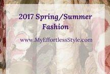 2017 Spring/Summer Fashion / Styles for 2017 Spring Summer Fashion Week, Street Styles, & Designers