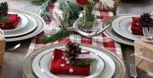 Tartan Christmas table♥