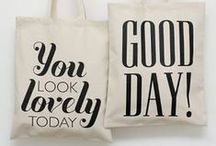 Alphabet bags ★ / by HIP in style
