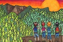 Color Maryland Green / From wistful watercolors to vivacious videos, each year the Color Maryland Green contest gives all Maryland students, grades K-12, an opportunity to participate in this drawing, photography, and poetry contest inspired by their appreciation for the state's natural resources.