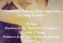 Weddings: Music for Your Big Day