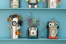 Themafeest: Robots / Tips en inspiratie voor het organiseren van een origineel kinderfeestje. Inclusief traktaties, uitnodiging, spelletjes, verjaardagstaart, slingers, versiering en meer feestideeën!