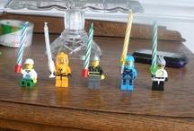 Themafeest: Lego / Tips en inspiratie voor het organiseren van een origineel kinderfeestje. Inclusief traktaties, uitnodiging, spelletjes, verjaardagstaart, slingers, versiering en meer feestideeën!