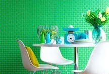 Colorfull interiors / by Sacha Bakker-Sluijter