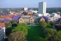 University of Pretoria / This multi campus research university was founded in 1920. Its nine faculties and one business school as well as more than 100 student clubs and organisations attract 57115 students.  www.up.ac.za