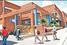 Central University of Technology / This institution offers its students high quality education in its following faculties: Engineering and Information Technology, Health and Environmental Sciences, Management Sciences as well as Humanities. It is located in Bloemfontein.  www.cut.ac.za