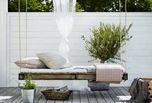 *  Out  &  Furniture / how to furnish outdoor areas? En plen air Outdoor Furniture