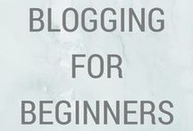 BLOGGING FOR BEGINNERS / All you need to know to start a blog! It takes time and effort, but is so worth it! Check out these actionable tips.