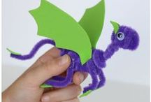 Pipe Cleaner and Pom Pom craft ideas / Pipe Cleaners