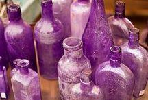 violet, lie de vin