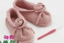 DIY - Crafts for your Feet / crochet and knit for the feet; socks, slippers, baby shoes etc. / by Wilma Spielen