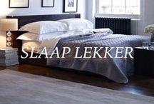 * Slaap lekker * / Slaapkamers