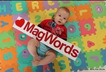 Magnetic Alphabet & Letters / Our Magnetic alphabet, letters and numbers MagWords / Nasze Magnetyczne alfabety, litery i cyfry.