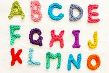 Creative Alphabet / interesting ideas for alphabets