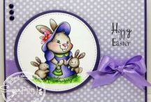 Easter / Spring / Cards and Gift Ideas using SugarPea Designs clear stamps.