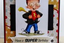 Birthday / Cards and Gift Ideas using SugarPea Designs clear stamps.