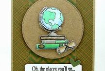 Teacher Appreciation / School / Cards and Gift Ideas using SugarPea Designs clear stamps.