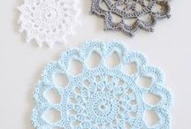 Crochet Home - Table / Doily Doilies Tablerunner Placemat Coaster / by Wilma Spielen
