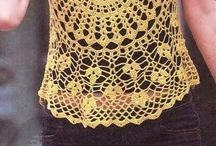 Crochet Clothes - Tops, Sweaters, Pullovers / by Wilma Spielen
