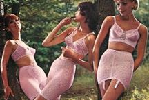 Vintage lingerie and beachwear in the good old days / inspiring lingerie and beachwear as worn before our time