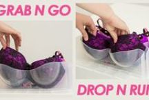 inventive ideas about lingerie / inventive ideas for using and storing those gorgeous lingerie pieces