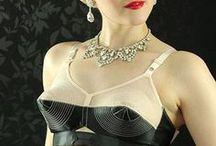 RETRO inspired lingerie and swimwear / lingerie and swimwear in fifties and sixties retro style