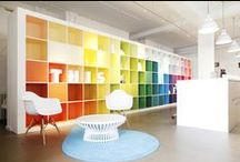 Inspirational interiors / Great office décor/interior design