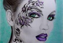 Riann's Art, Tekenen en Schilderen. Drawing and Painting. / Tekeningen met grafiet en kleurpotloden. Drawings with graphite and colored pencils. Paintings on MDF painted with acrylic paint Painter Ria Gnodde